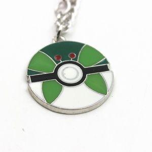 Pokemon Anime Cosplay Elf Ball Necklace Gift-H49